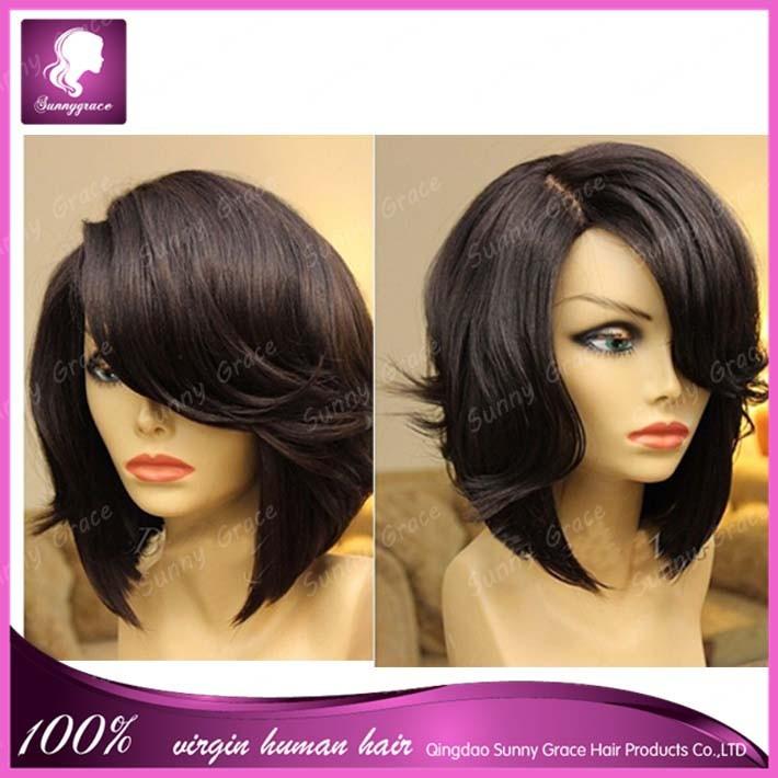 Fantastic Wholesale Popular Bob Wig 14 Wavy Human Hair Short Bob Lace Front Hairstyle Inspiration Daily Dogsangcom