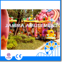 Exciting amusement park rides indoor /outdoor amusement rides electric train on kids for sale