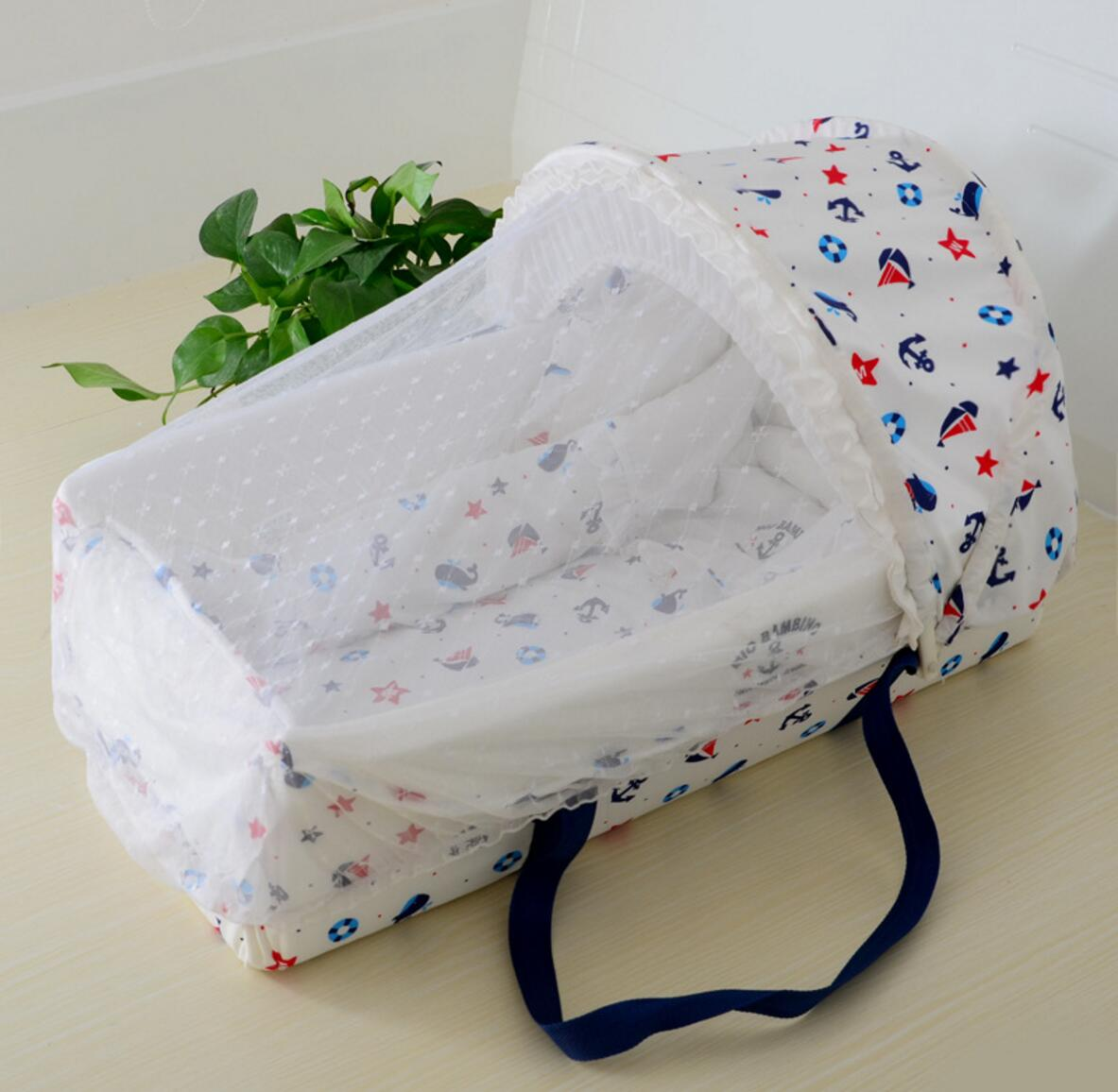 Portable Baby Cradle Multifunctional Car Newborn Sleeping Basket