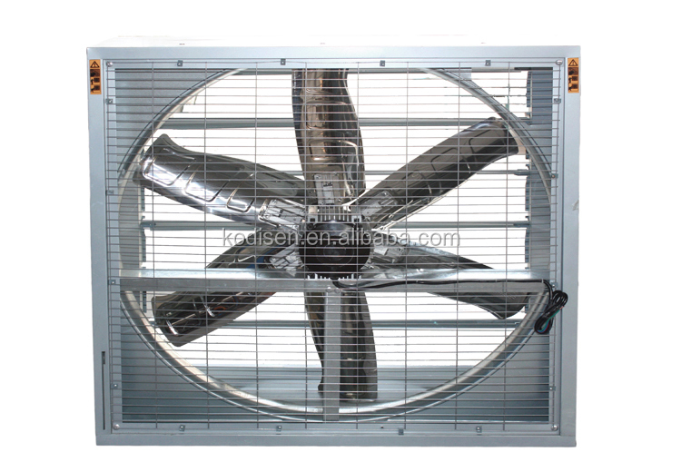 6 High Flow Fan : Chemical factory ventilation fan lower the temperature