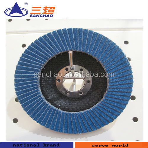 Metal and Wood Polishing Sanding Abrasive Flap Cloth Disc