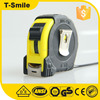 Retractable round tape measure custom print surveying tape