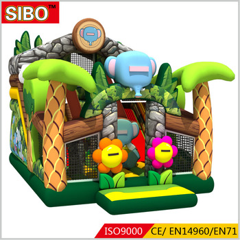 Adult inflatable obstacle course inflatable entertainment games outdoor for amusement park