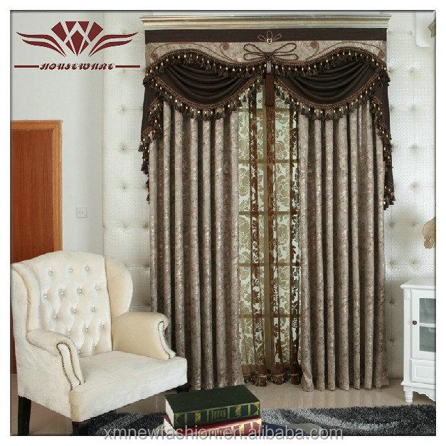 Black-out Curtains,Elegant Valance Curtains,Beaded Valance ...