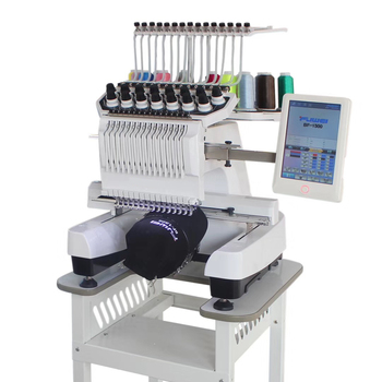Single head computer embroidery machine