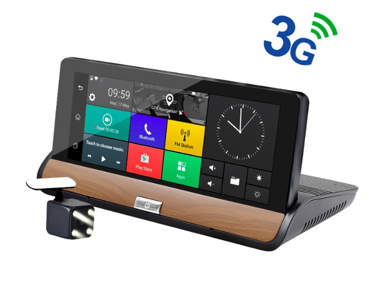 3G 7 inch Car GPS Navigation Bluetooth Android 5.0 Navigators Automobile with DVR FHD 1080 Vehicle gps sat nav Free maps