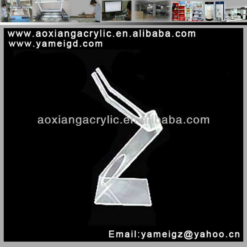 Fashionable Mobilephone white acrylic phone/jewelry display/holder