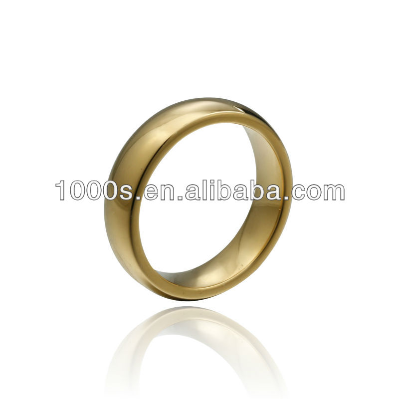2013 Good Tungsten Gold Ring