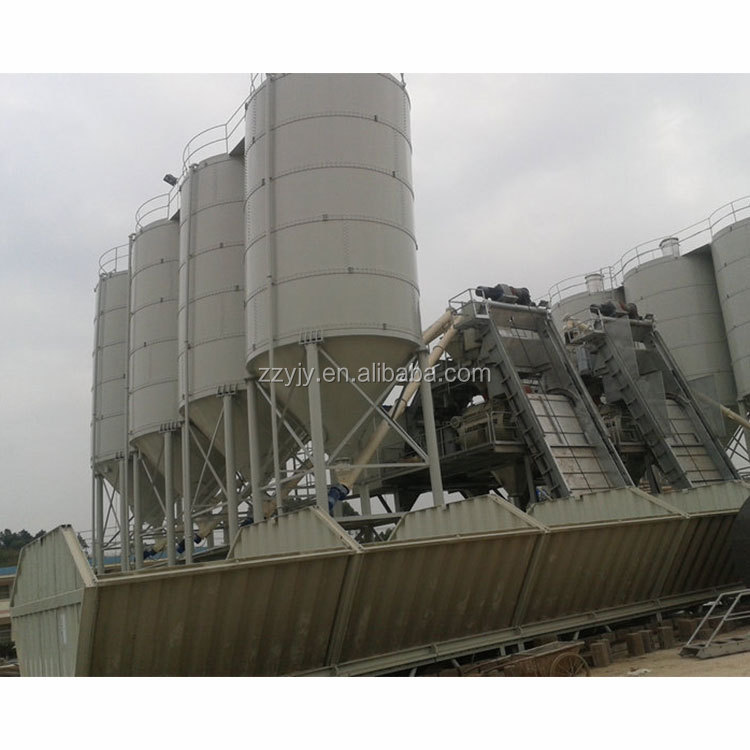 High safety assembly type 100t steel 120 ton cement silo with stainless steel