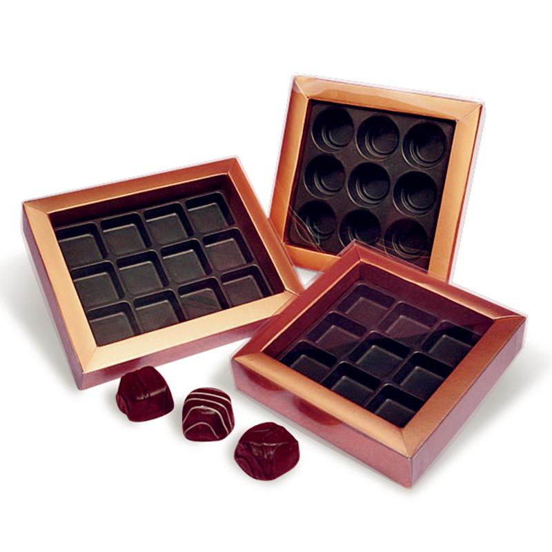 Новый пластиковый вакуумный формовочный лоток для шоколада на заказ