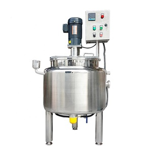 stainless steel sanitary fertilizer electric heating 1000L mixing tank