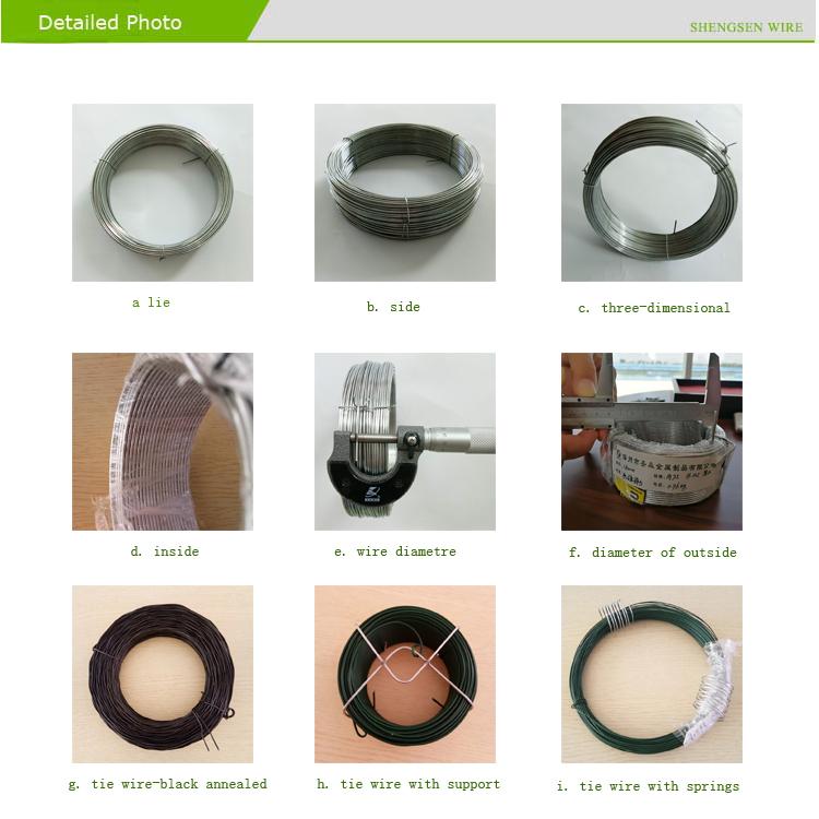 Alibaba Supplier Hi - Tensile 16 Gauge Rebar Tie Wire / Galvanized ...