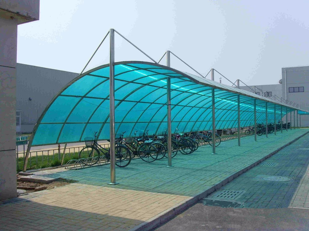 Outdoor Used Durable Car Canopy,Car Parking Shelter,Aluminum Carport/ metal structure for carport