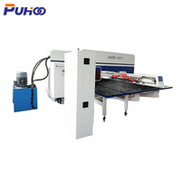 AMD-357 Hydraulic CNC Turret Sheet Punching Machine