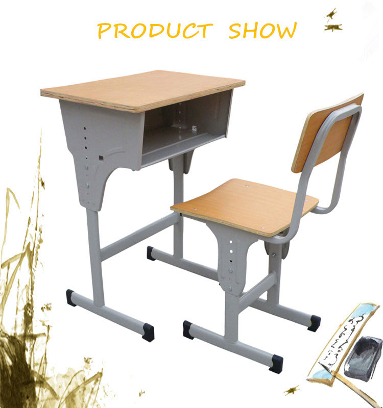 High Quality Plastic Student Desk Standard Size Of School