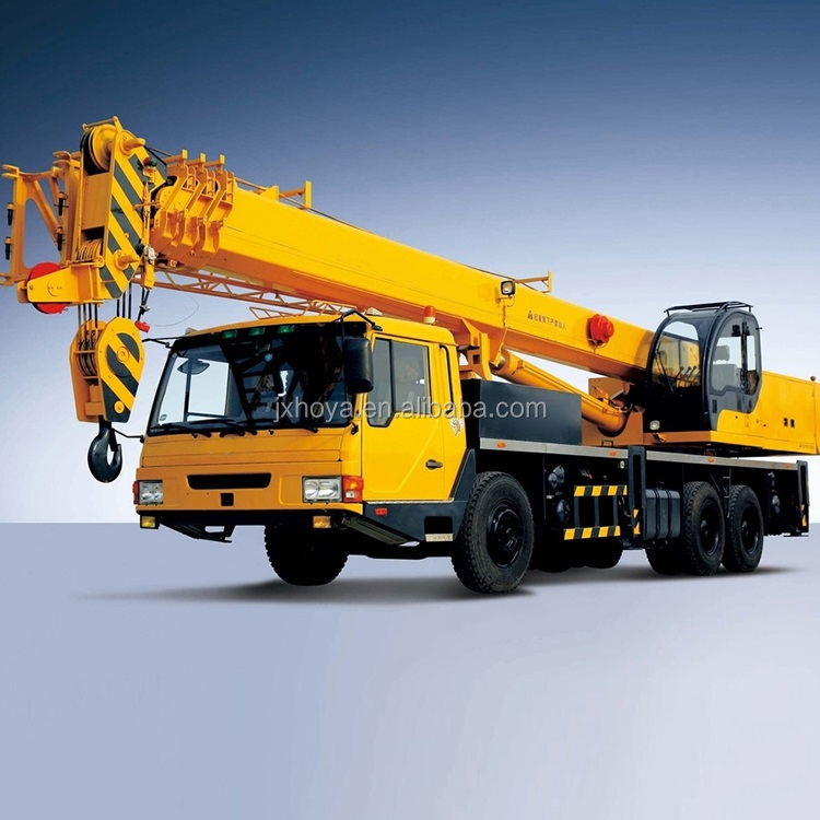 High quality telescopic jib 25 ton truck crane price