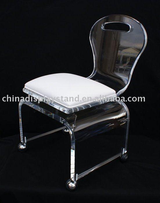 Beau Acrylic Rolling Vanity Chair   Buy Acrylic Chair,Chair,Acrylic Furniture  Product On Alibaba.com