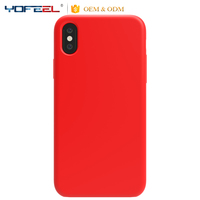 Soft Silicone cell Phone case for apple iphonex, for iPhone x silicone case packaging