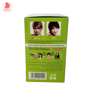 Wholesale price natural herbal black hair shampoo which is magic instant black hair color shampoo black hair dye