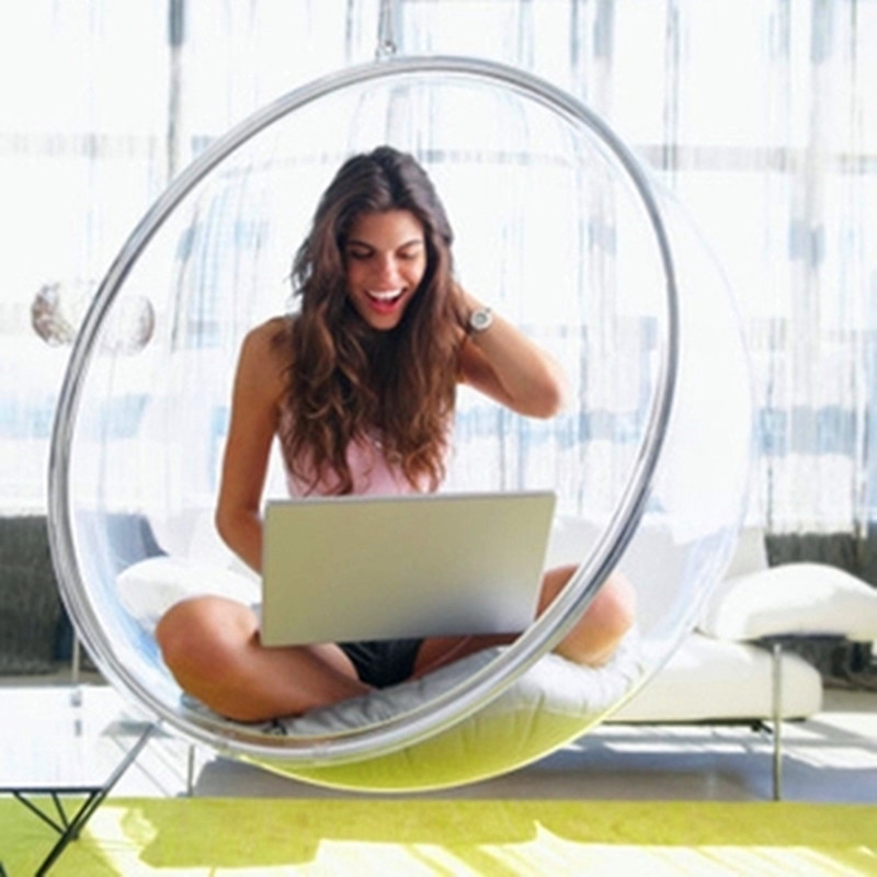 Comfortable Clear Acrylic Hanging Bubble Chair