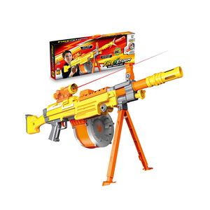 Continuous Fire Plastic Battery Operated Safe Airsof Gun Toy For Kids