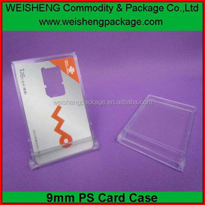 well design plastic credit card/sim card/name card holder cases