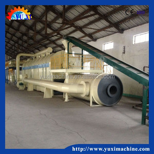 Turnkey project used tyre pyrolysis plant / scrap tyre recycling machine hot sale in Europe