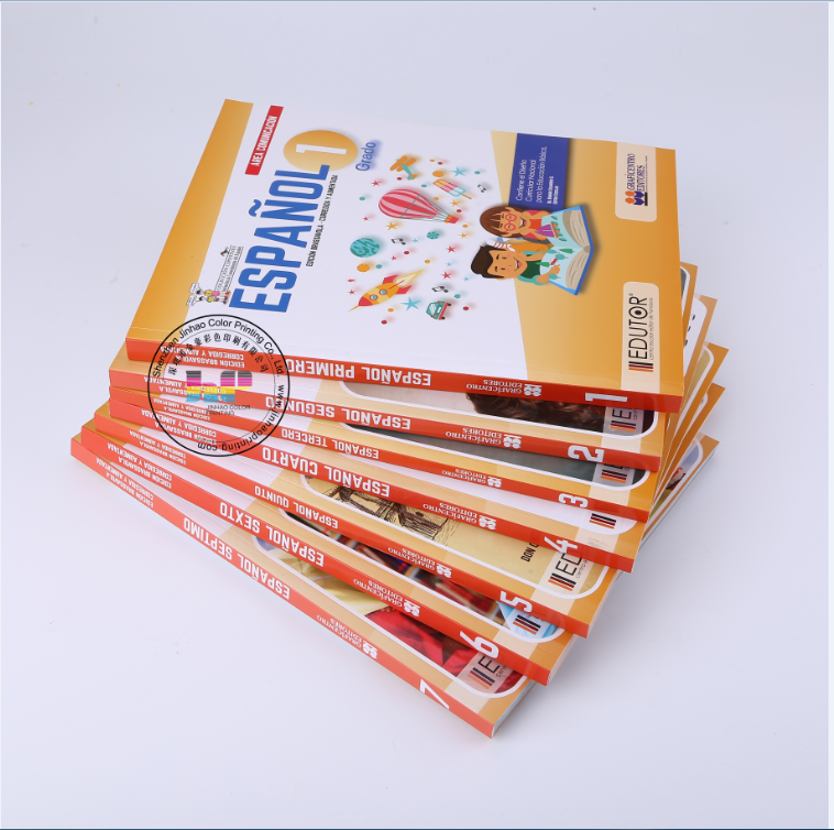 large quantity fast delivery school textbook printing service