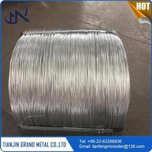 Professional high tensile spring steel low carbon galvanized wire