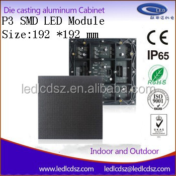 SMD P3 RGB led display module indoor indoor High Resolution <strong>screen</strong> full color