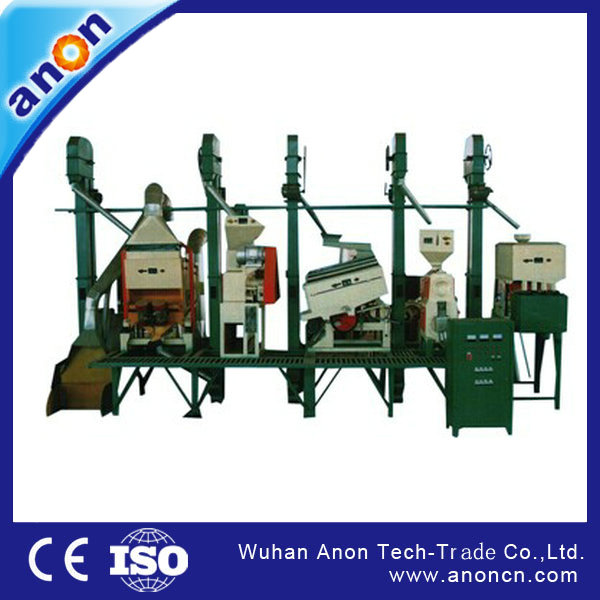 Anon 20-30t per day output rice mill