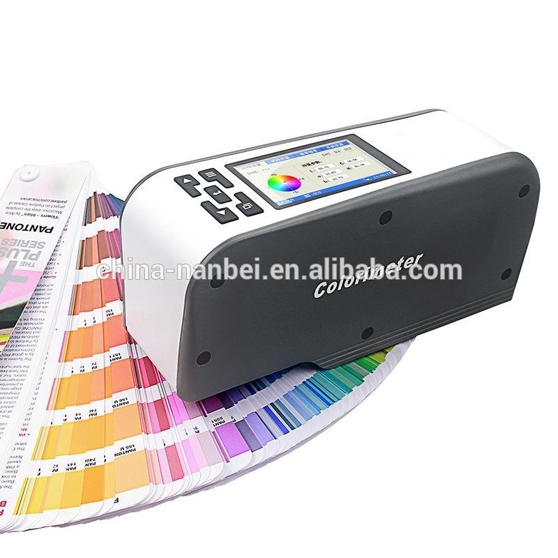 High precision color testing portable diamond colorimeter