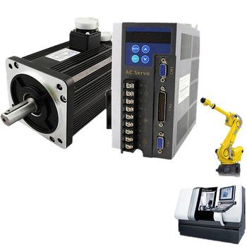 Low Noise Speed Servo Motor Kit 750W Electric 220V 3000RPM AC Servo Motor and Drive SG90