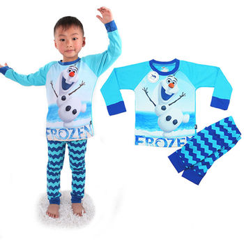 b6fd688e521f China Export Summer Child Clothing Olaf Teen Boys Sleepwear - Buy ...