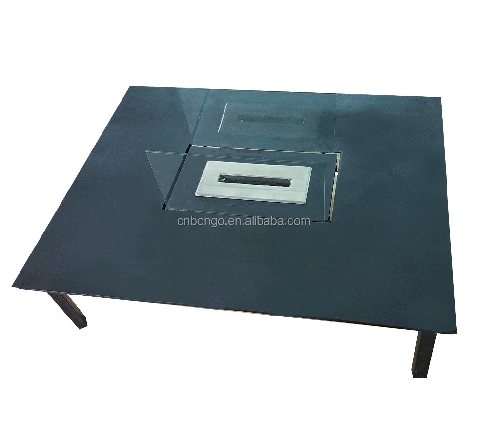 Table Glass Ethanol Fireplace, Table Glass Ethanol Fireplace Suppliers And  Manufacturers At Alibaba.com
