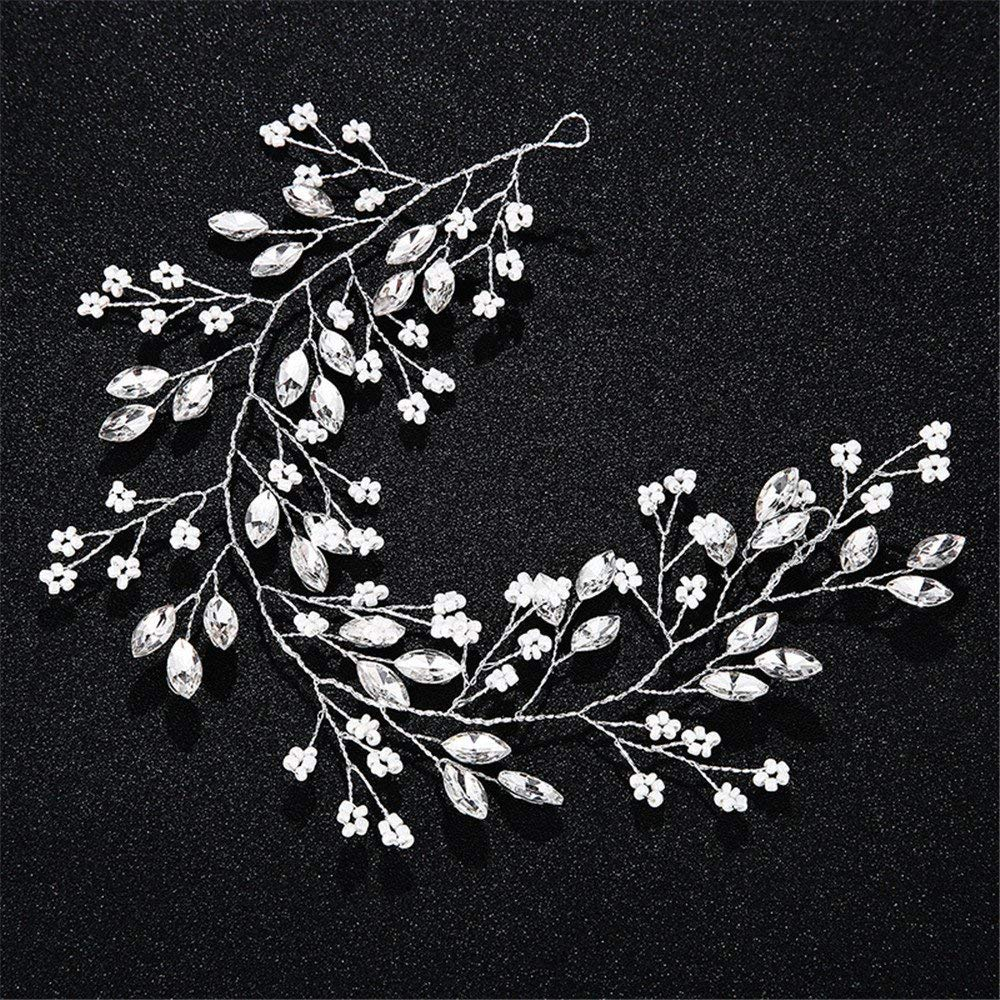 Weddwith Hair Accessories Hair styling accessories simple bride handmade hair style Europe and the United States millet beads hair accessories hair accessories