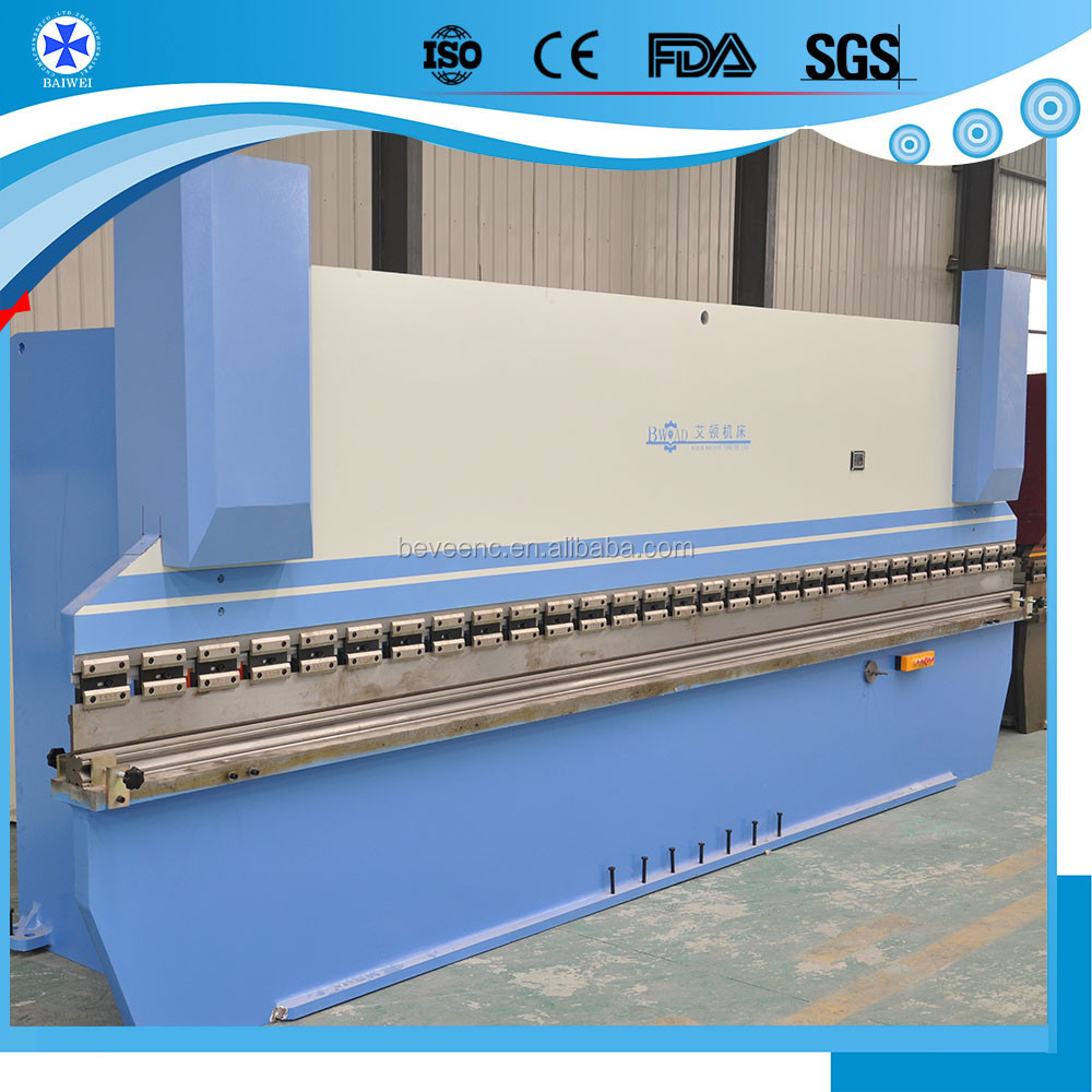CNC hydraulic pipe press brake 1000ton/10000mm and 4+1 axis control plate press brake price list