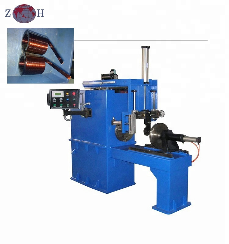 Automatische platte draad reactor hollow core coil winding machine