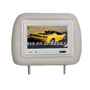 7``TFT high definition HD LCD car headrest DVD monitor