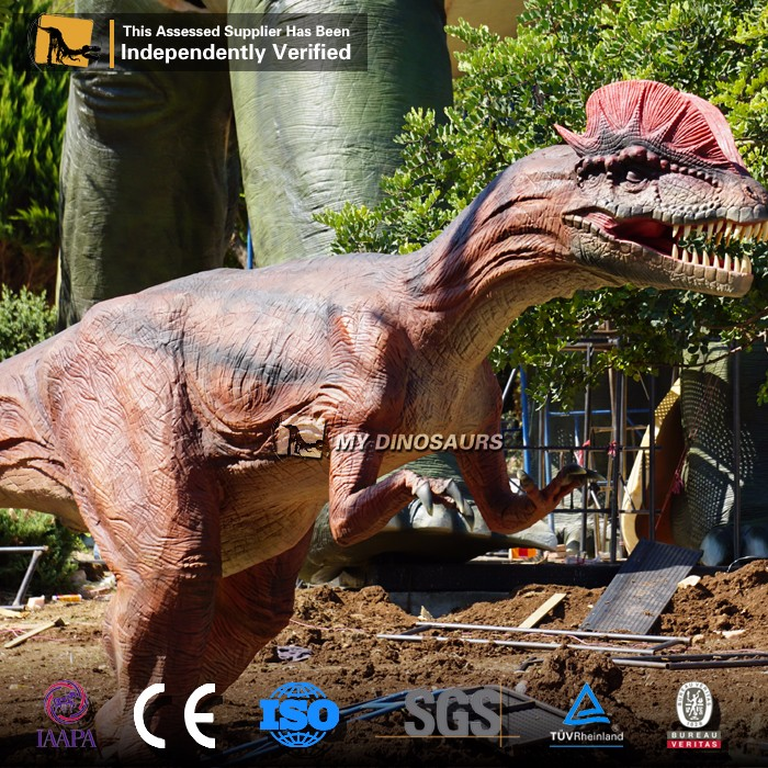 MY Dino-N674 Fly dinosaur simulation walking animatronic dinosaur for sale