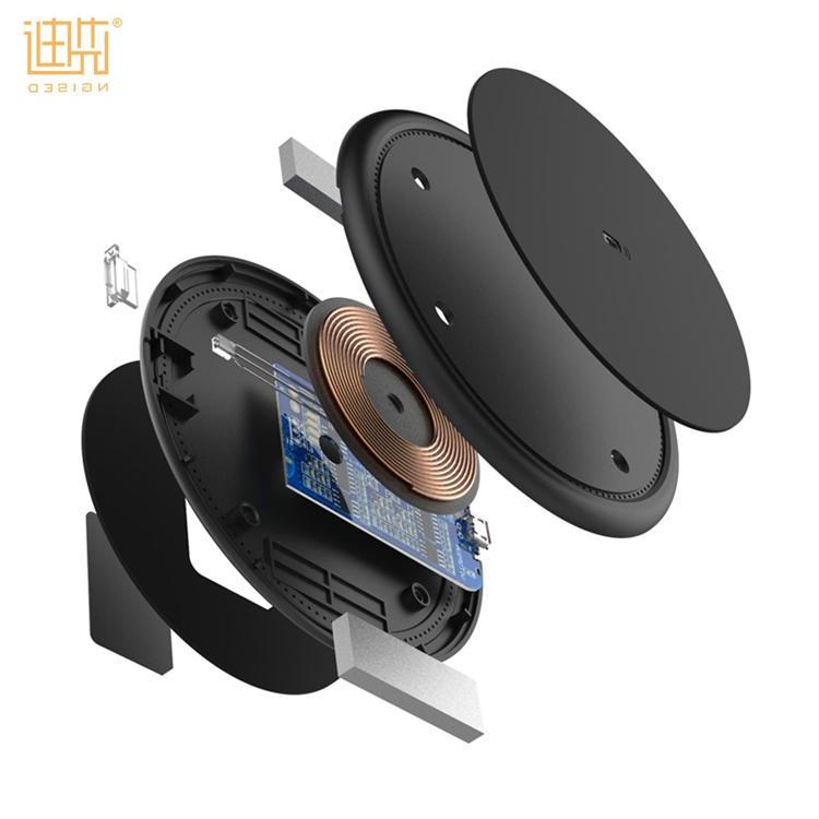 Più nuovo 10 W/7.5 W/5 W veloce base di ricarica wireless caricabatterie universale senza fili per Iphone per Samsung