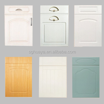 Kitchen Cabinet Plastic Cover Dilon Pvc Film Decorative Laminates