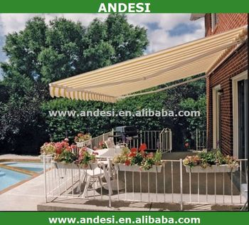 Balcony Manual Retractable Awning Price