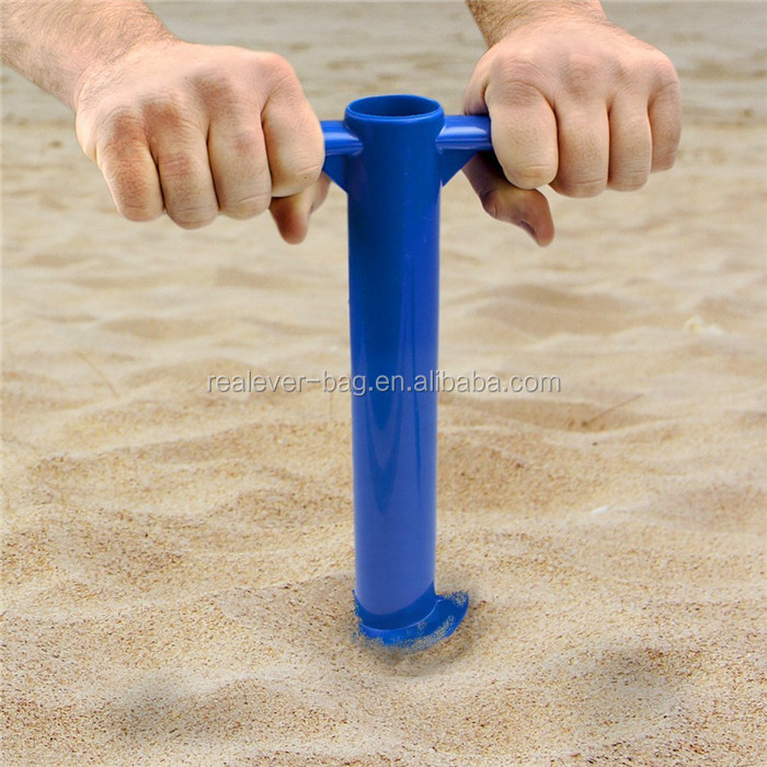 Beach Umbrella Plastic Sand Drill Base Anchor For Product