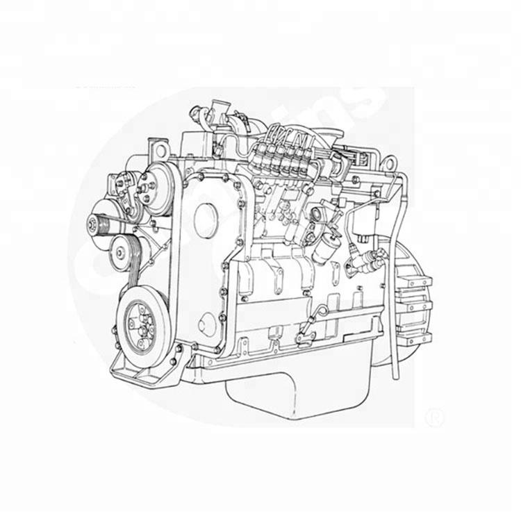 Cummins 6cta83 M205 Marine Engine 205hp With Ccs Certification