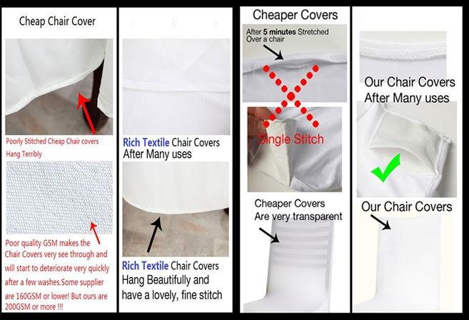white wedding chair covers cheap 1