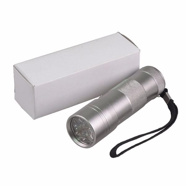 12 Led Blacklight Flashlight Pet Urine Uv Light With