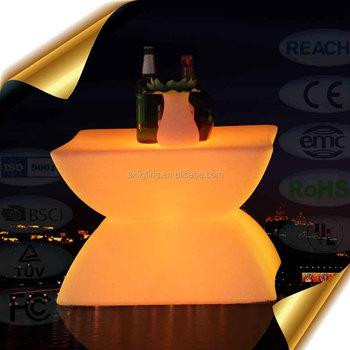 SX 6248 ETB New Design LED End Table / New Design Color Changing LED