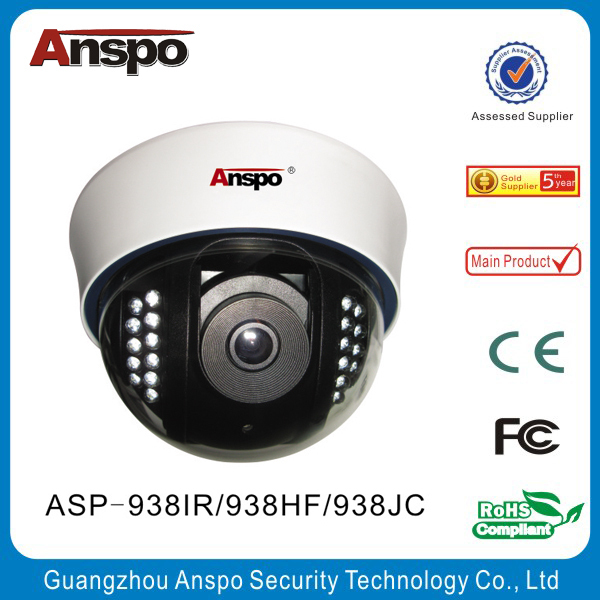 New waterproof 22 LEDs cctv dome camera Guangzhou factory cctv camera