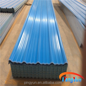 Color Corrugated Plastic Roofing Sheets Color Coated